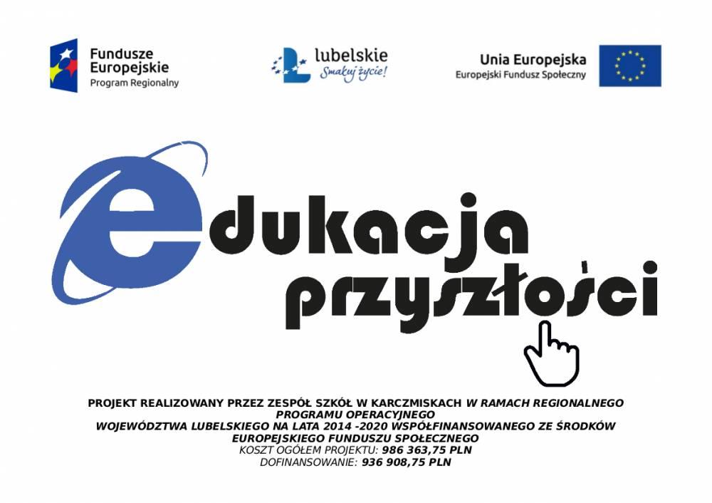 """Podstrona projektu unijnego """"Edukacja przyszłości"""""""